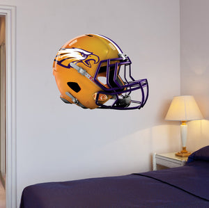"Avon Eagles Football Helmet Wall Mascot 24""X19"""