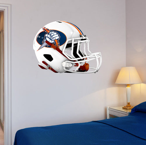 Berea Midpark Football Helmet Wall Mascot 24