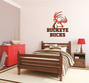 Buckeye Bucks Wall Mascot™