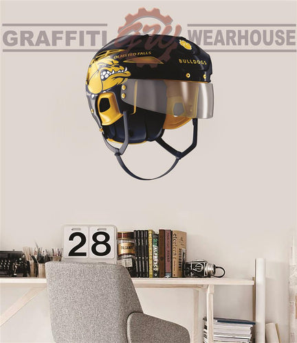 Olmsted Falls Hockey Helmet Wall Mascot™