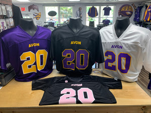 Avon Eagles YOUTH Replica Jersey - 3 Color Options