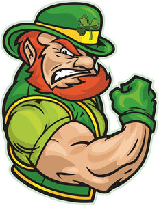 IRISH Muscle Wall Mascot™