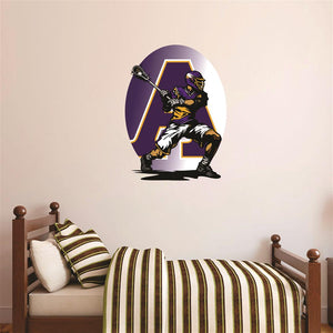 Avon Eagles Lacrosse Player Wall Mascot™