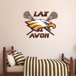 Avon Eagles Lacrosse Wall Mascot™
