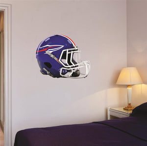 "Bay Village Football Helmet Wall Mascot 24""X19"""