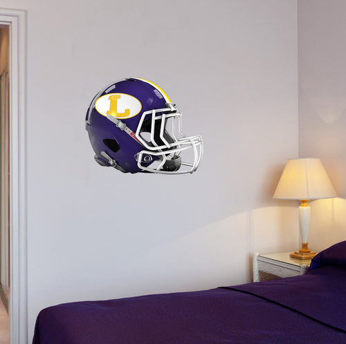 Lakewood Football Helmet Wall Mascot 24