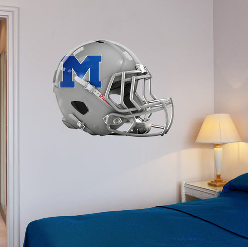 Midview Football Helmet Wall Mascot 24