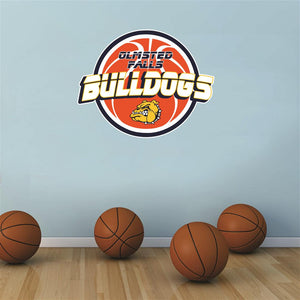 Olmsted Falls Bulldogs basketball Wall Mascot™ 3 SIZES