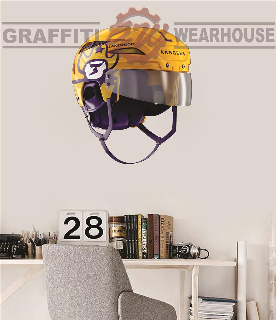 Lakewood Hockey Helmet Wall Mascot™