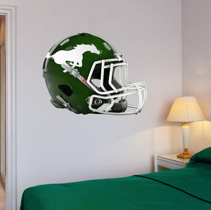 "Strongsville Football Helmet Wall Mascot 24""X19"""