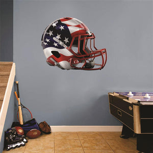 USA Football Helmet Wall Mascot™