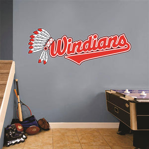 Windians Wall Mascot™