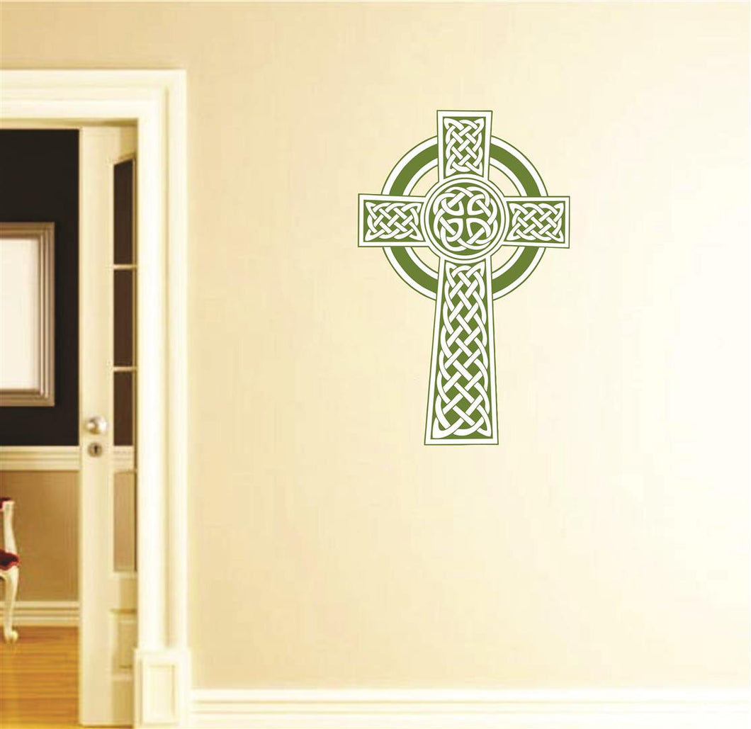 Celtic Knot Cross Wall Mascot™