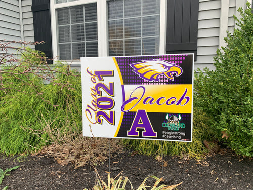 Avon Class of 2021 Yard Sign