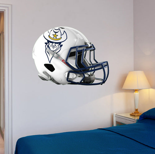North Ridgeville Football Helmet Wall Mascot 24