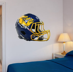 "Olmsted Falls Football Helmet Wall Mascot 24""X19"""