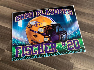2020 Avon Eagles Playoff Yard Sign