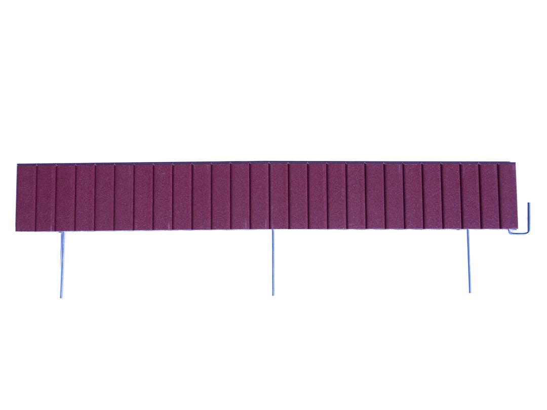 Cherrywood Flexible Poly Landscape Edging (6-Pk) 15' of Edging