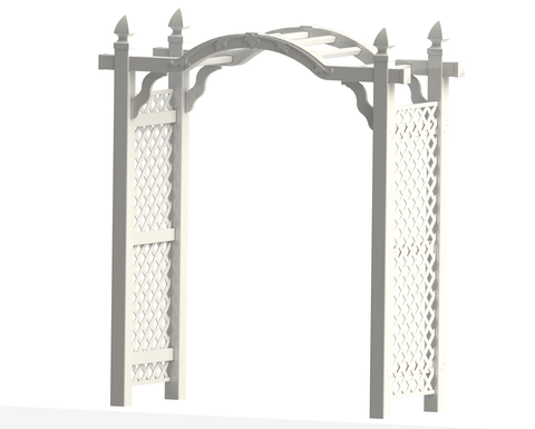 "66"" Vinyl Kingston Arbor"