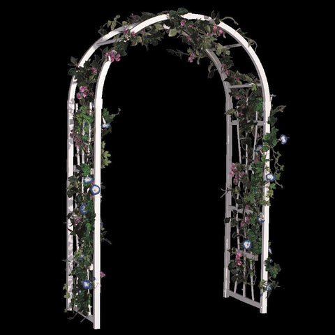 "Image of 48"" Vinyl Two Hoop Arbor"