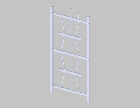 Image of Square Top Trellis