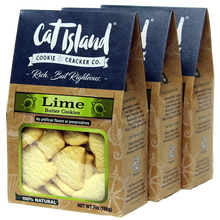Load image into Gallery viewer, Lime Butter Cookies - 3 Pack