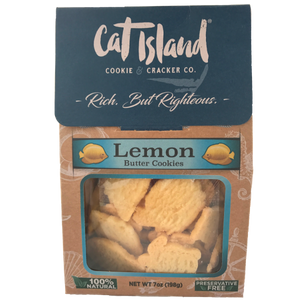 Lemon Butter Cookies - 3 Pack
