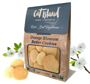 Orange Blossom Butter Cookies - 3 Pack