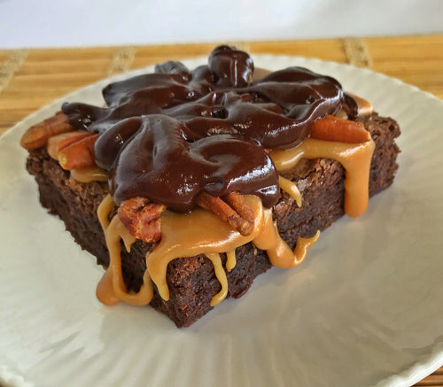Fudgy Turtle Brownie - Available only through March 31st