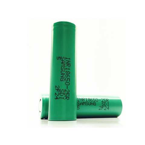 Buy Cheapest  Samsung 18650 Battery- 2500 mAh - Battery by Samsung at Vapour Gallery