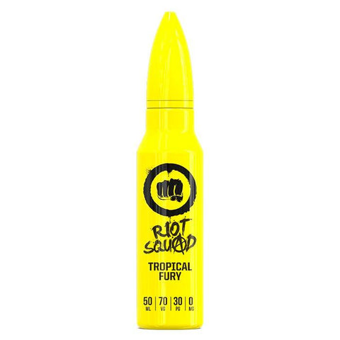 Buy Cheapest  Riot Squad – Tropical Fury - 50ML - e-liquid by Riot Squad at Vapour Gallery