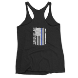 Thin Blue Line Racerback