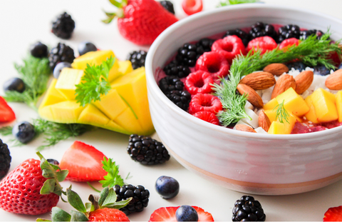 Healthy fruits, often eliminated through macronutriet targeted diets