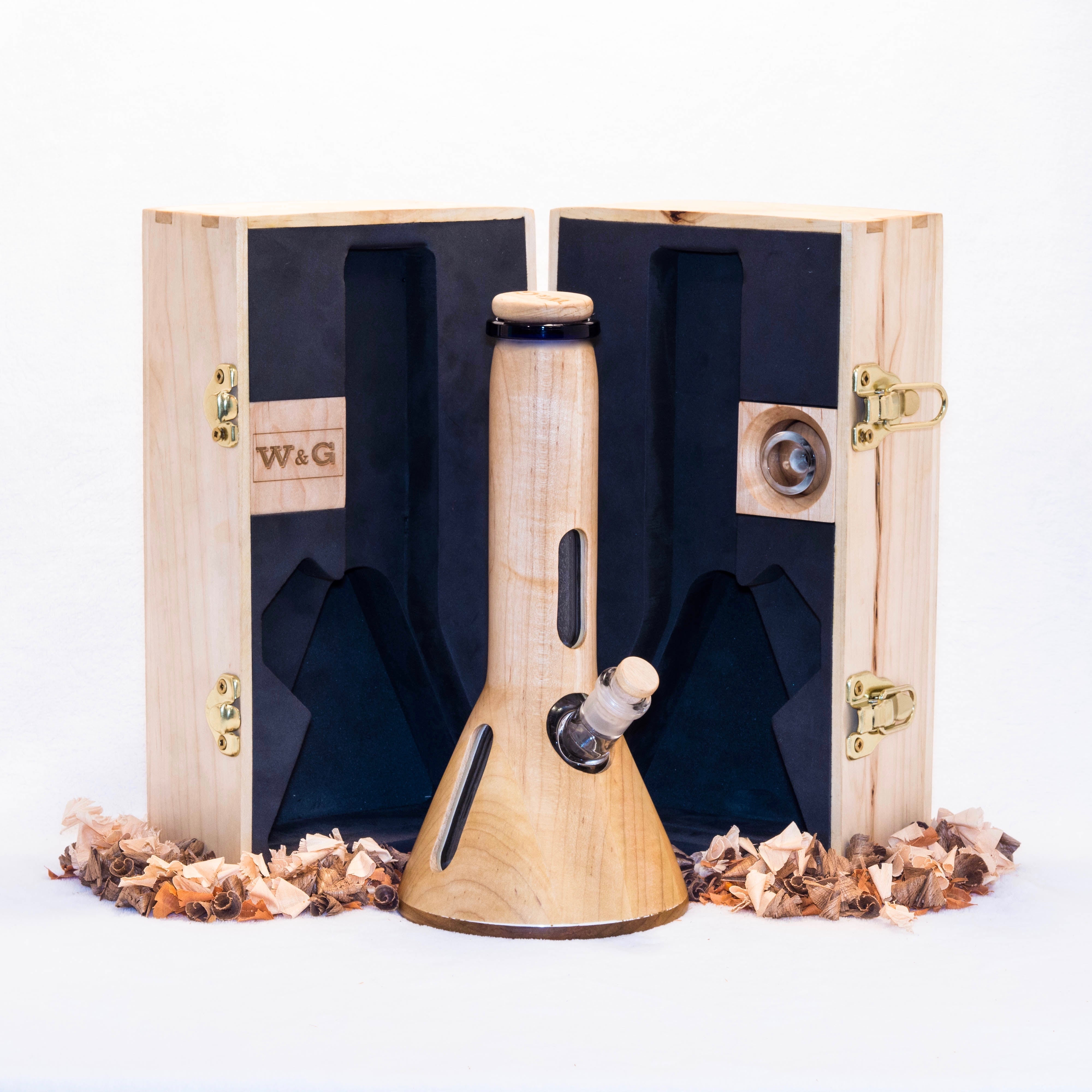 The Elegant W&G Maple Water-Pipe