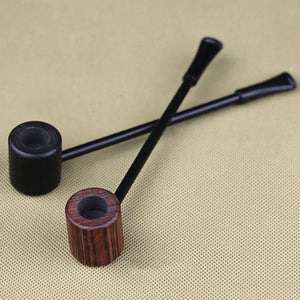 Long Wooden Pipe