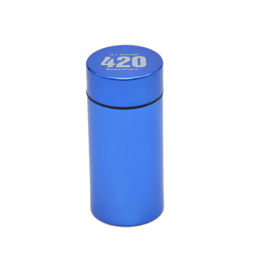 Aluminum Waterproof Airtight Stash Jar