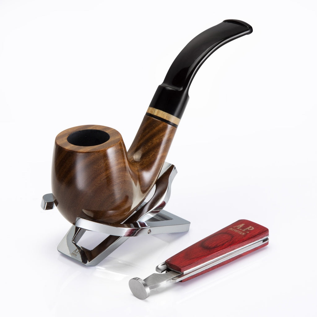 Stainless Steel Foldable Pipe Stand/Holder