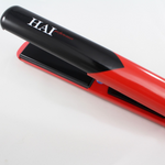 "Performance 1"" Ceramic Hair Straightener (red) - Flat Iron - HAI Beauty Concepts"