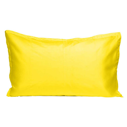 Silk Pillowcase - Yellow