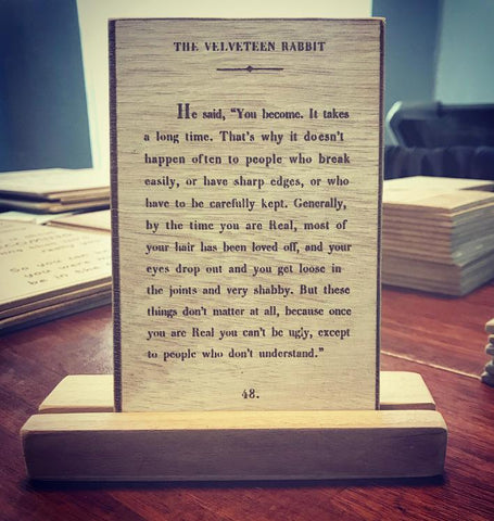 The Velveteen Rabbit....(Small)