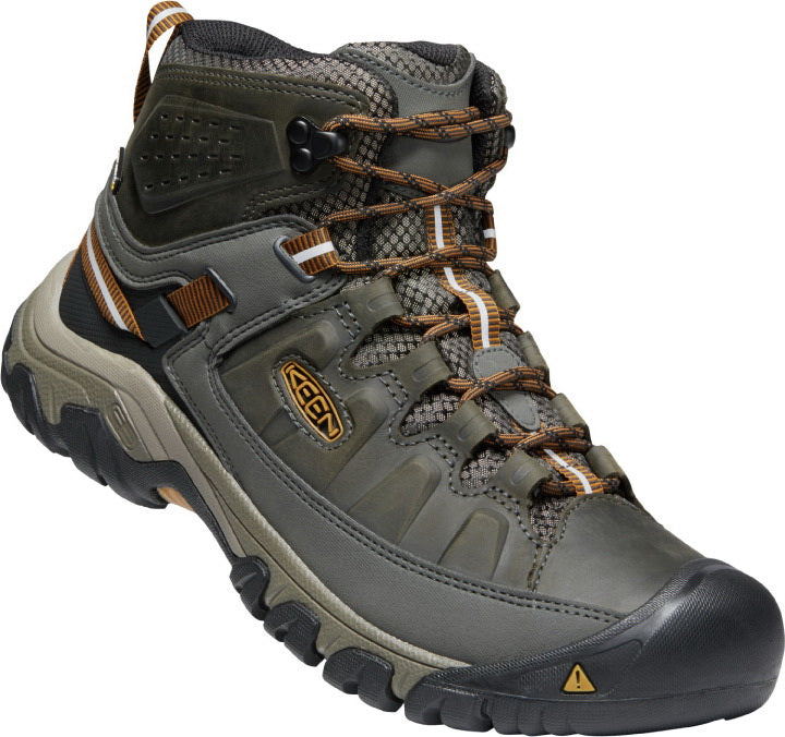 Targhee III Mid Waterproof - Black Olive/Golden Brown WIDE FIT