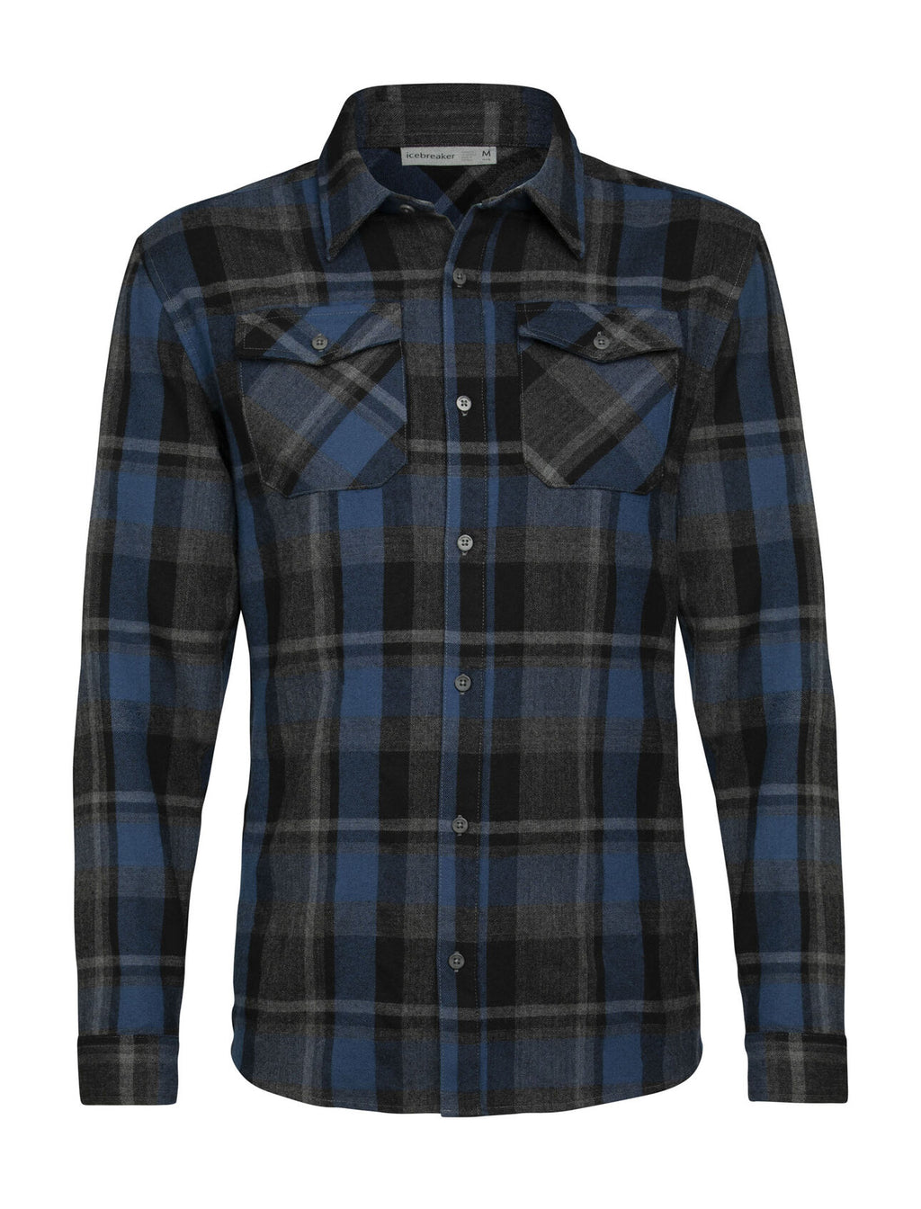 Men's Merino Lodge Long Sleeve Flannel Shirt
