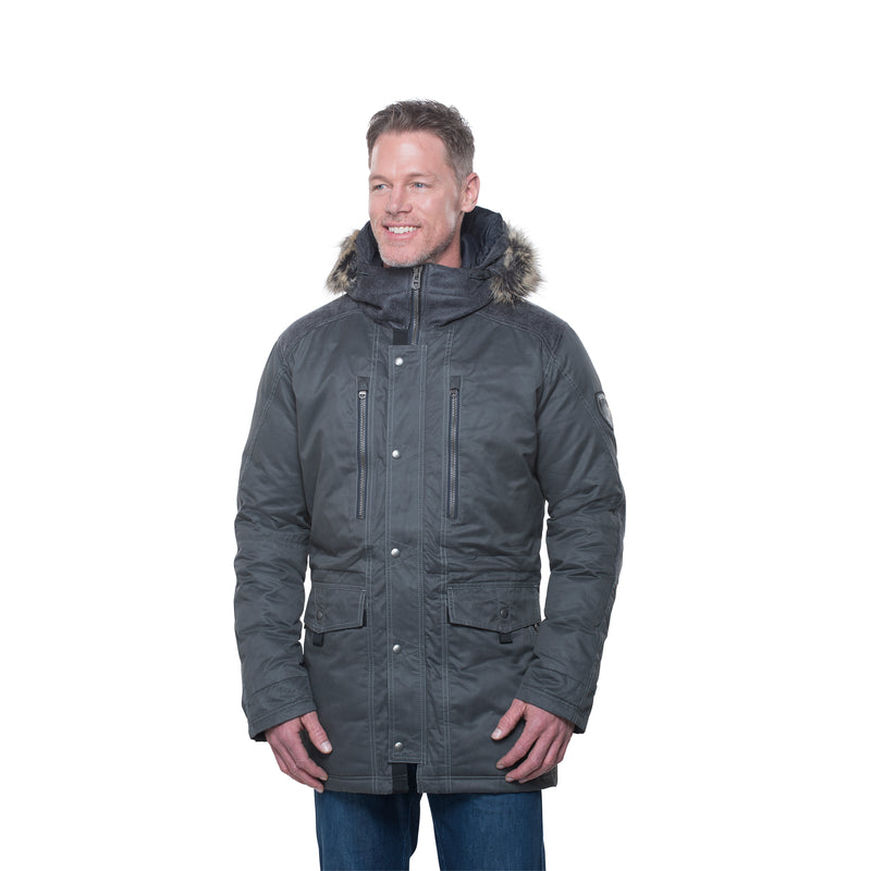 Arktik Down Parka - Carbon