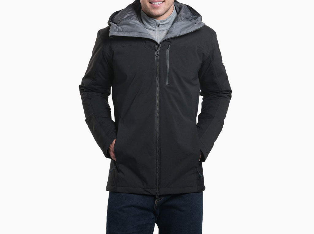 Kopenhagen Insulated Shell - Black Raven