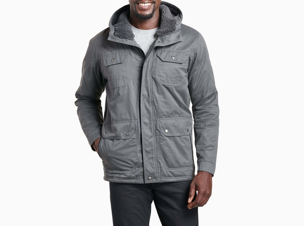Kollusion Jacket, Fleece-Lined - Carbon