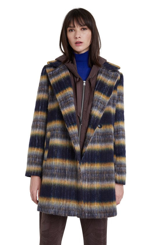 Straight Wool Coat / Einar