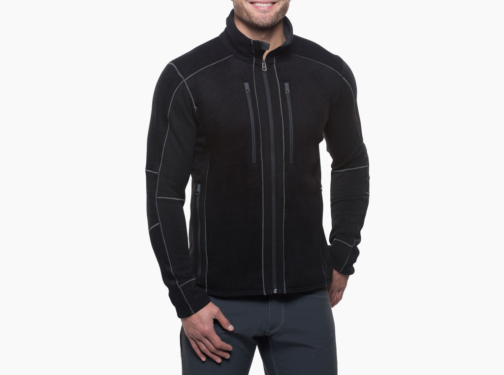 Interceptr Fleece Jacket - Black