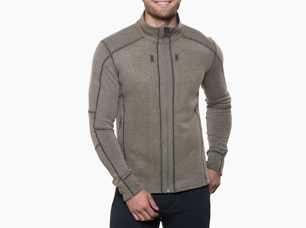 Interceptr Fleece Jacket - Oatmeal