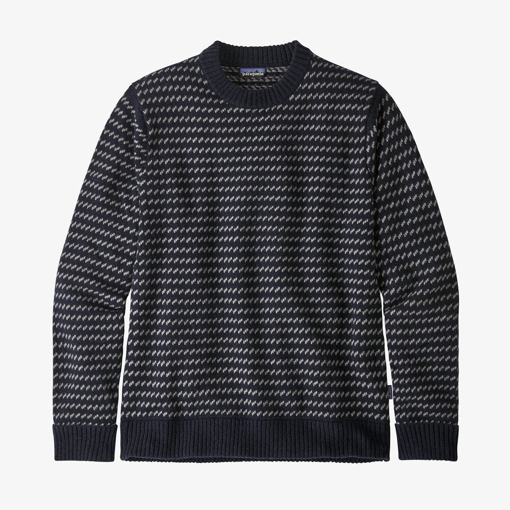 Recycled Wool Sweater - Blue