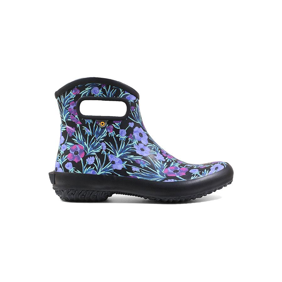 Patch Ankle Boot Vine